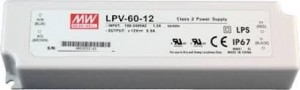 Zasilacz led Mean Well LPV-60-12 60W 5A 12V DC ip67