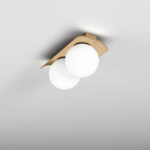AQFORM MODERN BALL WPx2  Surface LED NATYNKOWY SUFITOWA 46971